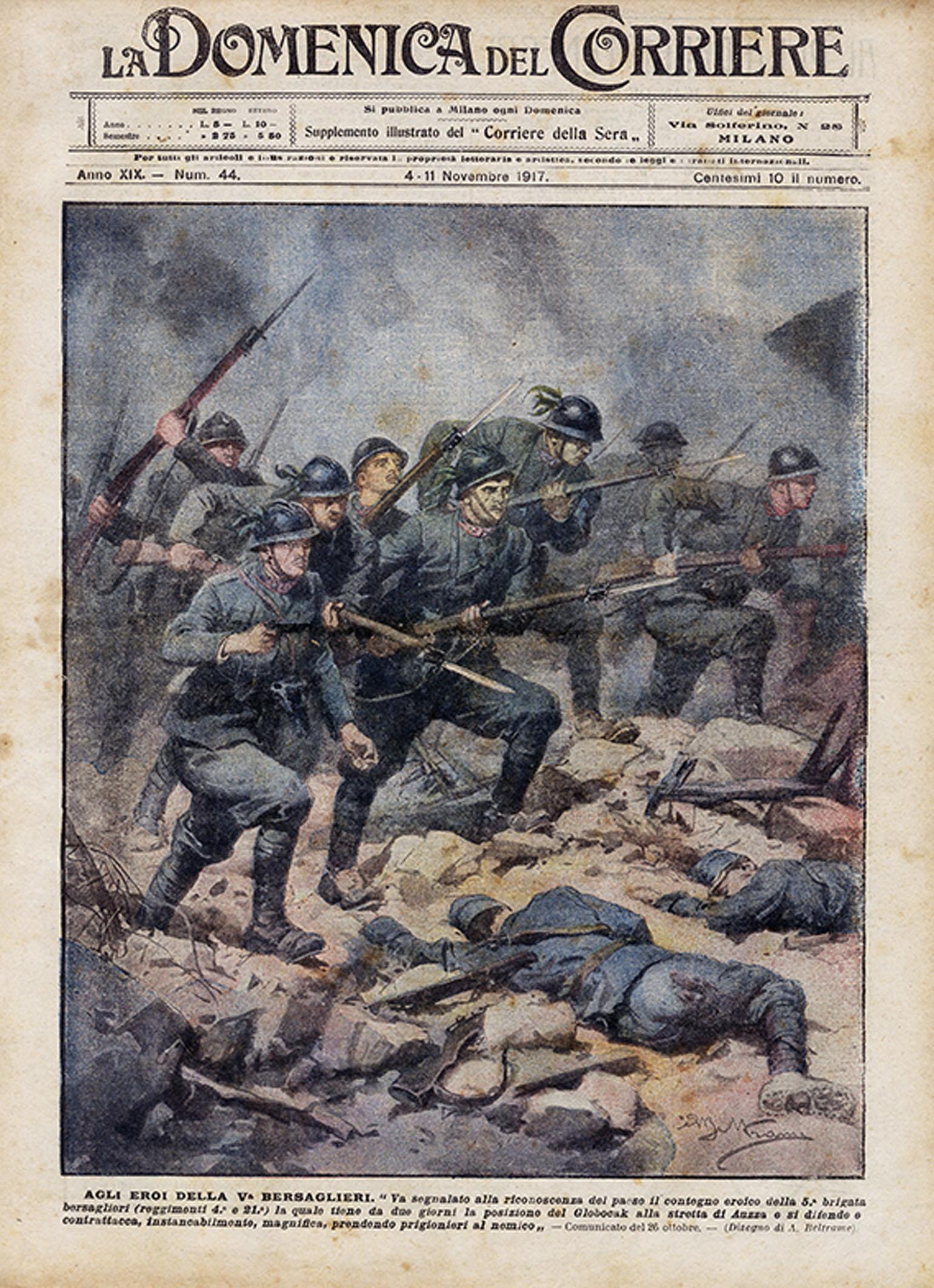 n.44 agli eroi della quinta bersaglieri