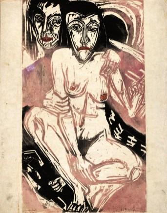 Kirchner, Ragazza Malinconica, 1922 Kunstmuseum Bern