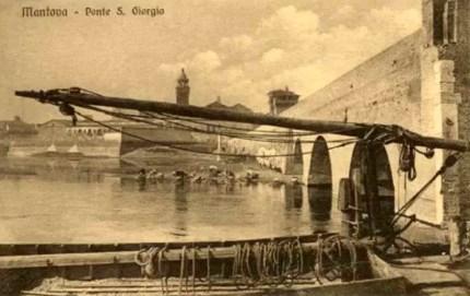 Mantova - ponte di san Giorgio