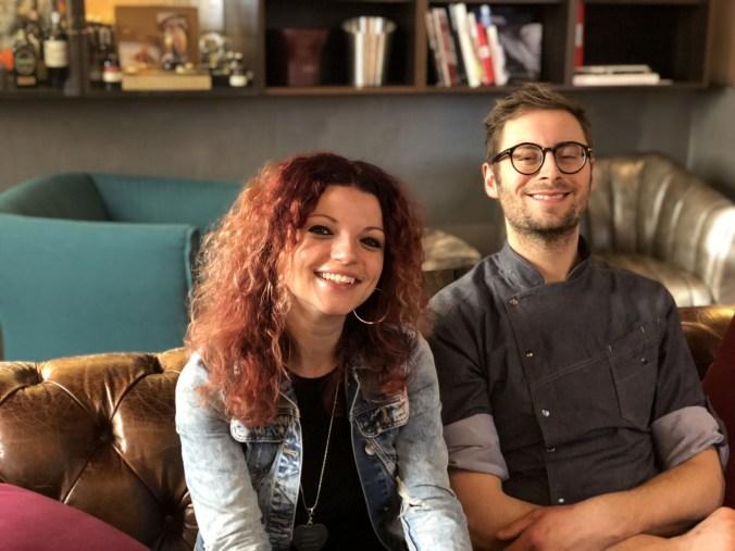 titolare Elena Storchi con Chef Stefano Roversi