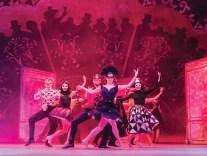 AN AMERICAN IN PARIS by george Gershwin, Ira Gershwin, Craig Lucas,; ( in order of music,lyrics, book), , , Director and choreographer - Christopher Wheeldon, Designer - Bob Crowley, Rehearsal image from Three Mills Rehearsal studios, London, UK, 2017, Credit: Johan Persson/