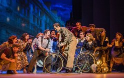 A scene from An American In Paris by George and Ira Gershwin @ Dominion Theatre. Directed and Choreographed by Christopher Wheeldon. (Opening 21-03-17) ©Tristram Kenton 03-17 (3 Raveley Street, LONDON NW5 2HX TEL 0207 267 5550 Mob 07973 617 355)email: tristram@tristramkenton.com