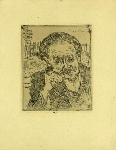 11 - KM 116.945 Portrait of Dr Gachet ('L'Homme à la pipe'), June 1890
