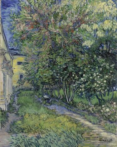 2 - KM 101.508 The garden of the asylum at Saint-Rémy, May 1889
