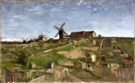 9 - KM 109.824 The hill of Montmartre, April - May 1886