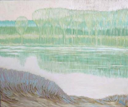 Bruno Beltrami - Paesaggio mantovano (2004) copia