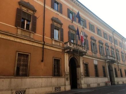 Mantova palazzo Guidi - Di Bagno