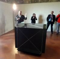Peter Assmann presenta la mostra
