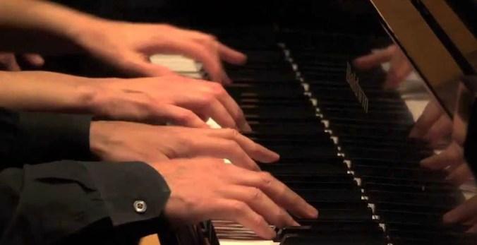 pianoforte a quattro mani