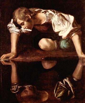 Caravaggio - narciso alla fonte