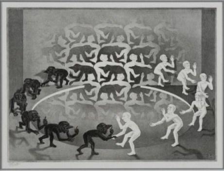 Maurits_Cornelis_Escher_Encounter