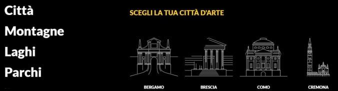 la tua città