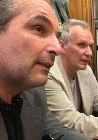 Enrico Ratti e Stefano Iori