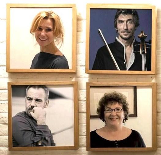 Anna Bianchi, Marco Remondini, Stefano Boccafoglia e Roberta Vesentini