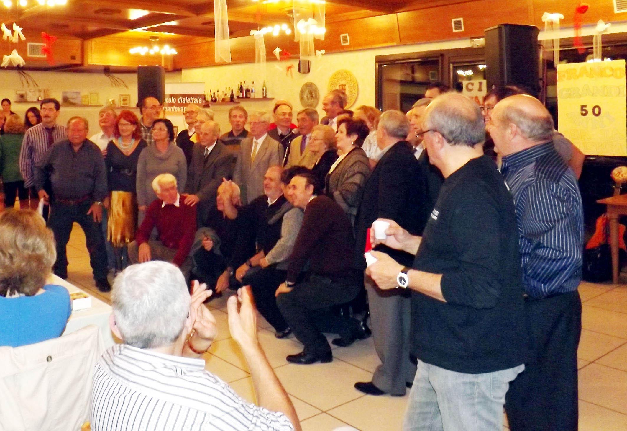 Ristorante Il Nespolo Bagnolo San Vito : San biagio u arte cultura tradizione la cena degli artisti