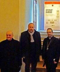 Mons.Manzoli-Peter Assmann- il vescovo Busca