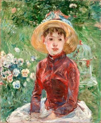 4_Berthe-Morisot_-Ragazza-sullerba-Mlle-Isabelle-Lambert_-1885_-Inv_nr__-251-WH_-Fotograf-Anders-Sune-Berg