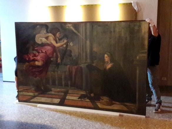 Annunciazione di Tiziano 3
