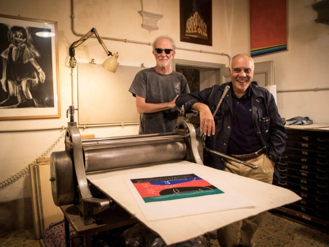 Francesco De Gregori e Mimmo Paladino_foto di Daniele Barraco -DB2382_B