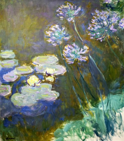 Wterlilies and agapanthus 1914-1917