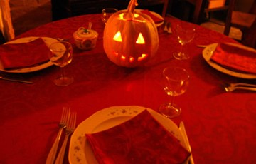 halloween in agriturismo