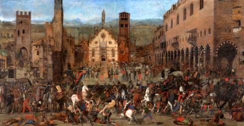 Bonacolsi la cacciata da Mantova (Marone)