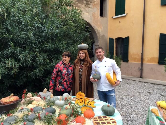Foto Unomattina da sinistra Francesca Nadalini, Metis Di Meo e Stefano Cherubini