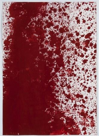 NITSCH-Hermann-Senza-titolo-olio-su-carta-1987-Collezione-Credito-Valtellinese