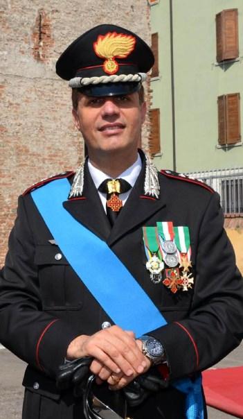 Colonnello Fabio Federici - Comandante Provinciale dei Carabinieri di Mantova