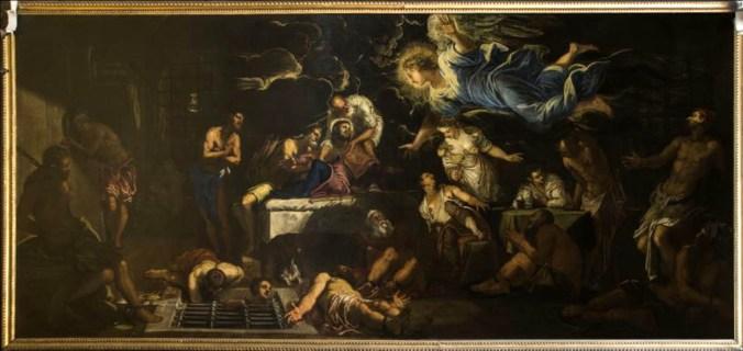 San Rocco in carcere confortato da un angelo.JPG