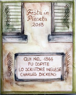 formella Festa in Piaseta 2018