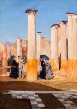 De-Nittis_Il-foro-di-Pompei.