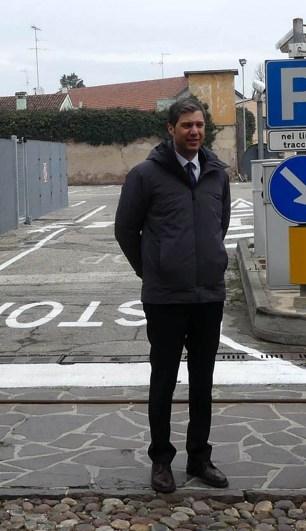 Iacopo Rebecchi - assessore alla Polizia Locale Comune di Mantova