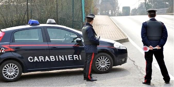 carabinieri mantova - furto aggravato
