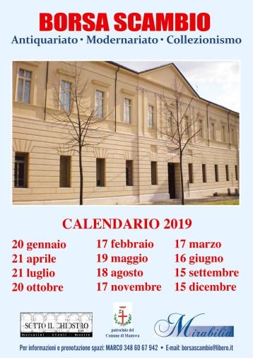 volantino antiquariato 2019