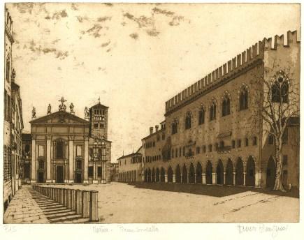 Bassignani Mantova - P.zza Sordello, duomo