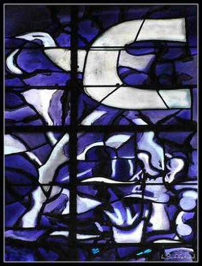 Geoges Braque Maquette du vitrail de la chapelle