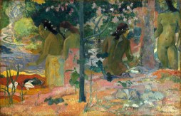 Paul Gauguin (French, 1848 - 1903), The Bathers, 1897, oil on canvas, Gift of Sam A. Lewisohn 1951.5.1