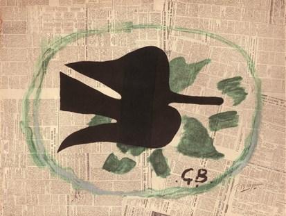 Braque L'Oiseau dans le feuillage, 1961.Jpeg
