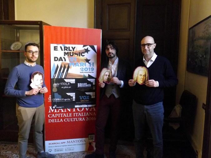 Da sx Michele Gaddi, Mirko Gragnato e Andrea Caprini