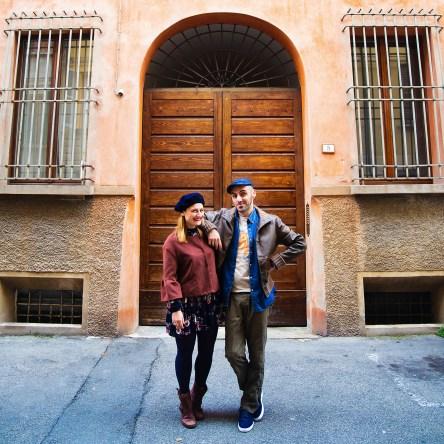 Elisa Paterlini e Luca Golinelli