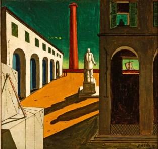 Giorgio-de-Chirico-Enigma-della-partenza-1914-olio-su-tela.