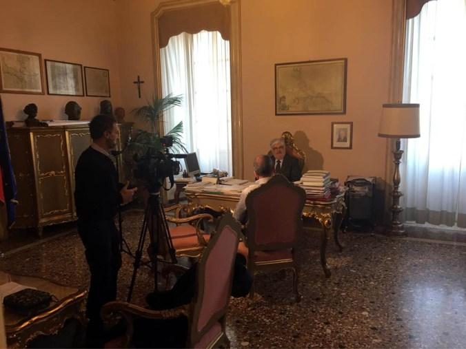 Intervista Tg 2 Dossier al presidente Morselli