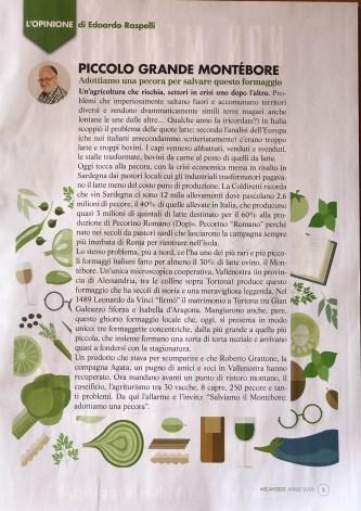 MELAVERDE MAGAZINE aprile 2019 editoriale Raspelli