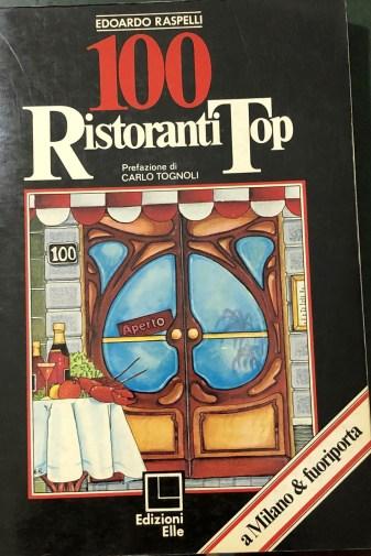 RASPELLI 100 ristoranti top 1977 copertina