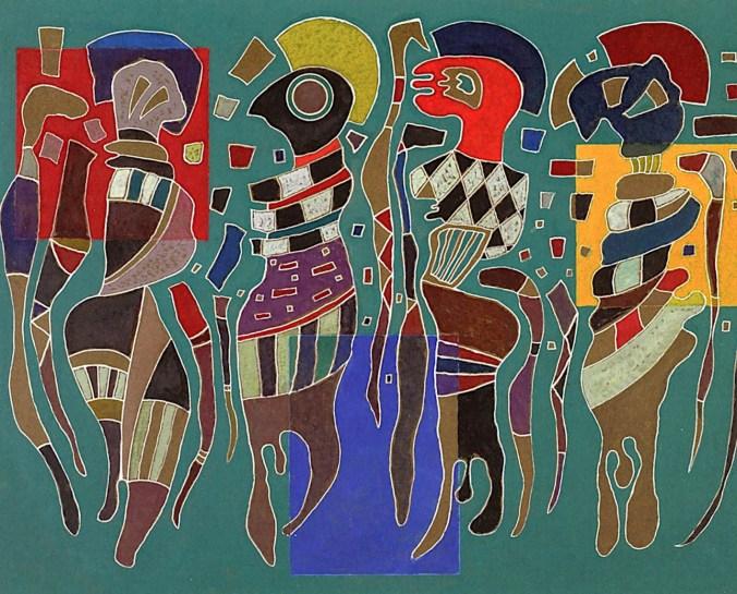 kandinsky four figures on three squares.jpg