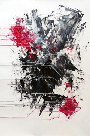 6) Stefania Asunis, Two hearts, 2018, acrilico su tela, cm 120x80