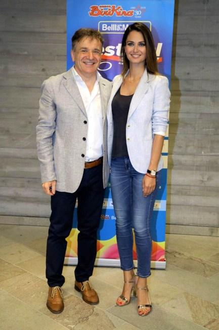 Anna Safroncik e Paolo Baruzzo_Festival Show_M9 conferenza stampa_foto d...