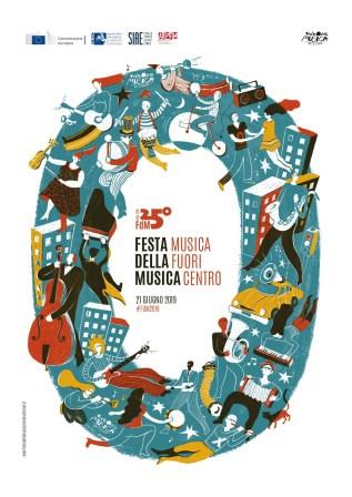 Manifesto FESTA DELLA MUSICA 2019
