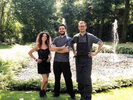 Titolare Elena Storchi - Aiuto Chef Patrick Mantovani - Chef Stefano Roversi 1